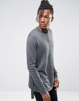 Asos Cotton Sweater with D Ringers
