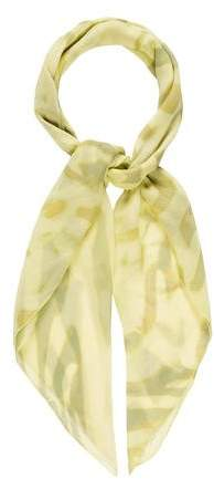 Halston Silk Printed Scarf