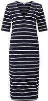 Jigsaw Stripe Relaxed V Dress