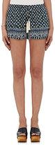 Natalie Martin Women's Tassel-Tie Shorts-BLUE