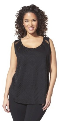 Mossimo Women's Plus-Size Sleeveless Fashion Tank Top - Assorted Colors