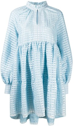 Stine Goya Jasmine gingham dress