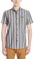 Volcom Men's Carson Short Sleeve Woven Shirt