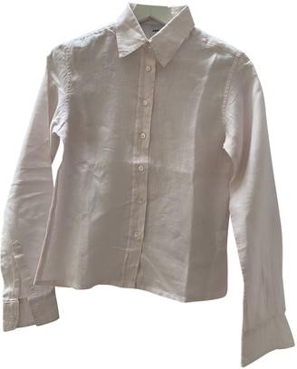 Aspesi Pink Linen Top for Women