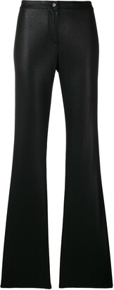 Romeo Gigli Pre Owned Flared Tailored Trousers