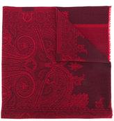 Etro printed scarf - men - Silk/Wool - One Size