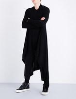Rick Owens Longline cashmere cardigan