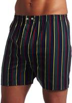 Derek Rose Men's Regimental Ash Boxer Shorts
