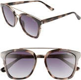 Thumbnail for your product : Quay Sweet Dreams 55mm Square Sunglasses
