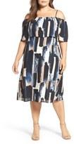 Sejour Plus Size Women's Off The Shoulder Dress