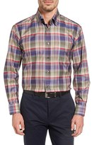 Robert Talbott Men's 'Anderson' Classic Fit Plaid Sport Shirt
