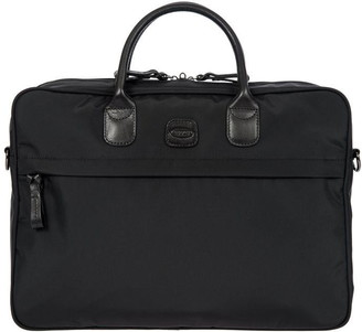 Bric's Brics X-Travel Black Slim Twin Handle Briefcase