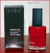 Avon Nail Polish Enamel Nailwear La Rouge by