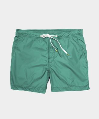 Hartford Kuta Swim Trunk in Green