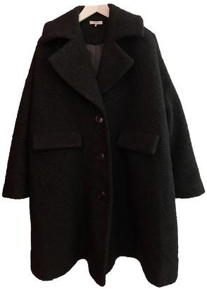 Ganni Fall Winter 2019 Black Wool Coats