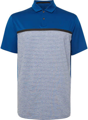 Nike Tiger Woods Vapor Striped Dri-Fit Polo Shirt