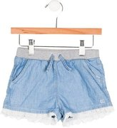 Gucci Girls' Eyelet-Trimmed Mini Shorts