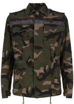 Valentino Camouflage Caban Jacket
