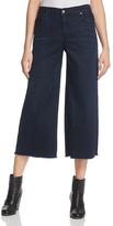 Eileen Fisher Five Pocket Cropped Jeans in Dark Blue