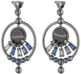 Eddie Borgo Europa Statement Hoop Drop Earrings