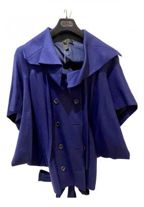 Bernhard Willhelm Blue Wool Jackets