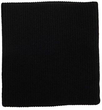 Madewell Antibacterial Knit Neckwarmer (Almost Black) Scarves
