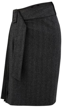 Rokh Blended wool skirt