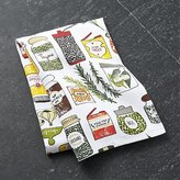 Crate & Barrel Spice World Dish Towel