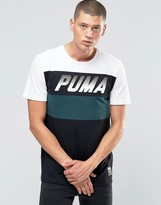 Puma Speed Font Crew T-Shirt In Black 57155332