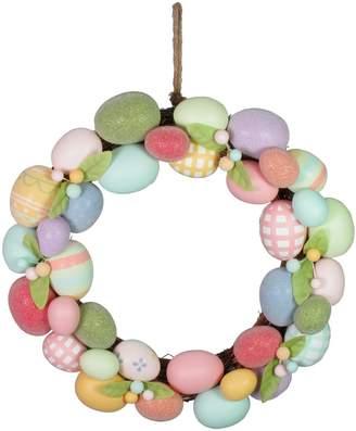 Celebrate Easter Together Easter Egg Wreath