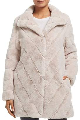 Calvin Klein Faux Fur Teddy Coat