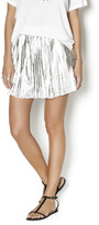 NU New York Silver Mini Skirt