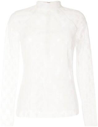 Alice McCall Mamacita Skivvy lace blouse