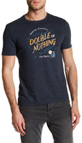 Original Penguin Double Or Nothing Graphic Crew Neck Tee