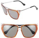 Balenciaga Women's 58Mm Gradient Sunglasses - Blck Crystal/ Havana/ Gradient