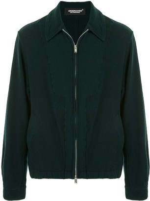 Undercover Zip-Up Wool Jacket