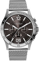 Bulova Caravelle New York by Men's Chronograph Stainless Steel Mesh Bracelet Watch 44mm 43A129