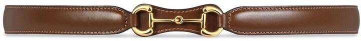 Gucci 1955 Horsebit leather belt