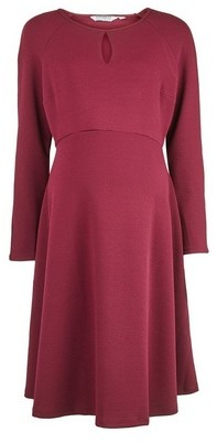 Dorothy Perkins Womens **Maternity Berry Keyhole Dress
