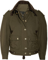 Burberry Prorsum Cropped cotton jacket