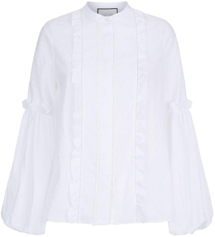 Alexis Embroidered Blouse