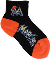 For Bare Feet Miami Marlins Ankle TC 501 Medium Socks