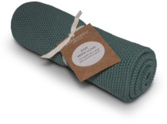 Aspegren Denmark - Tea Towel, Knitted, Solid Jade, Set of 2