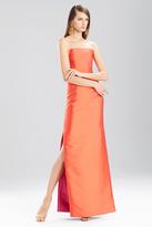 Josie Natori Faile Long Strapless Dress