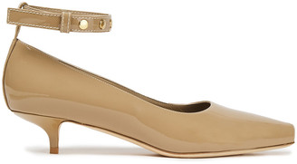 Burberry Studded Patent-leather Pumps
