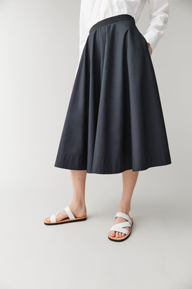 Cos Wide-Leg Culottes With Elastic Waist