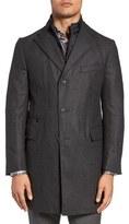 Corneliani Classic Fit Wool & Cashmere Topcoat