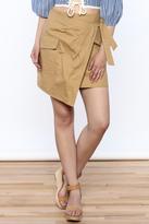 Sugar Lips Cargo Wrap Skirt