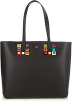 Fendi Roll embellished leather tote