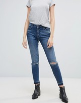 Minimum Skinny Jeans With Rips